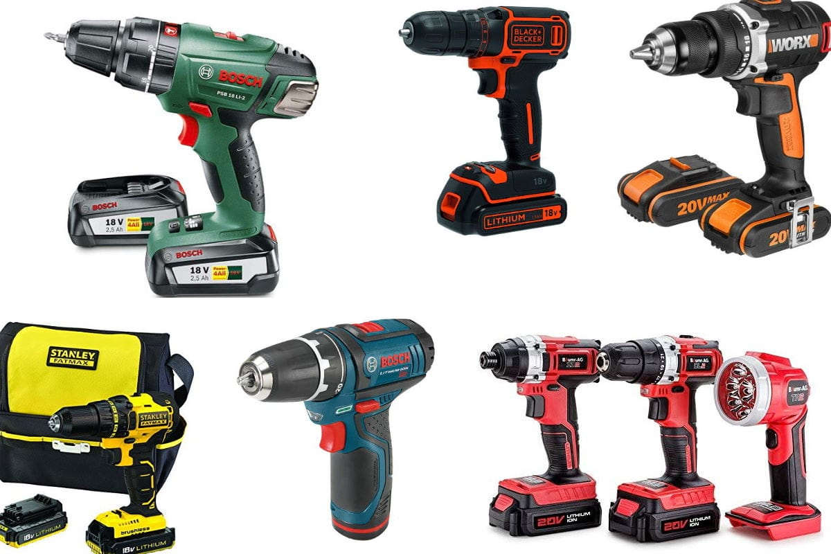 Top 10 Best Cordless Drills of all Time Available in the UK